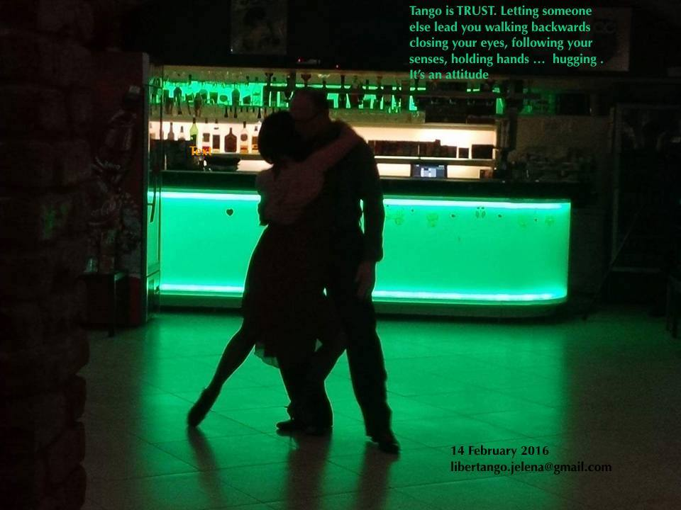 Tango show and maestros from Croatia Jelena Somogyi and Mario Medvedec